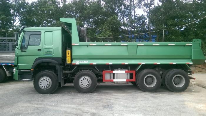 Xe tải ben tự đổ howo 4 chân nhập khẩu 2015-2016