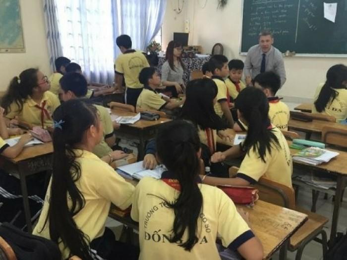 May đồng phục trường THCS giá rẻ từ May Lê Thành
