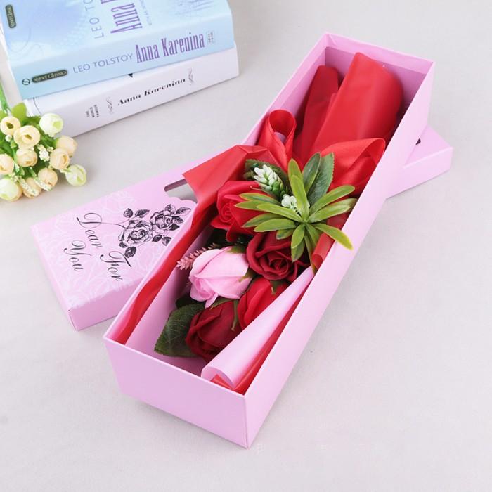 Hoa hồng sáp thơm màu đỏ