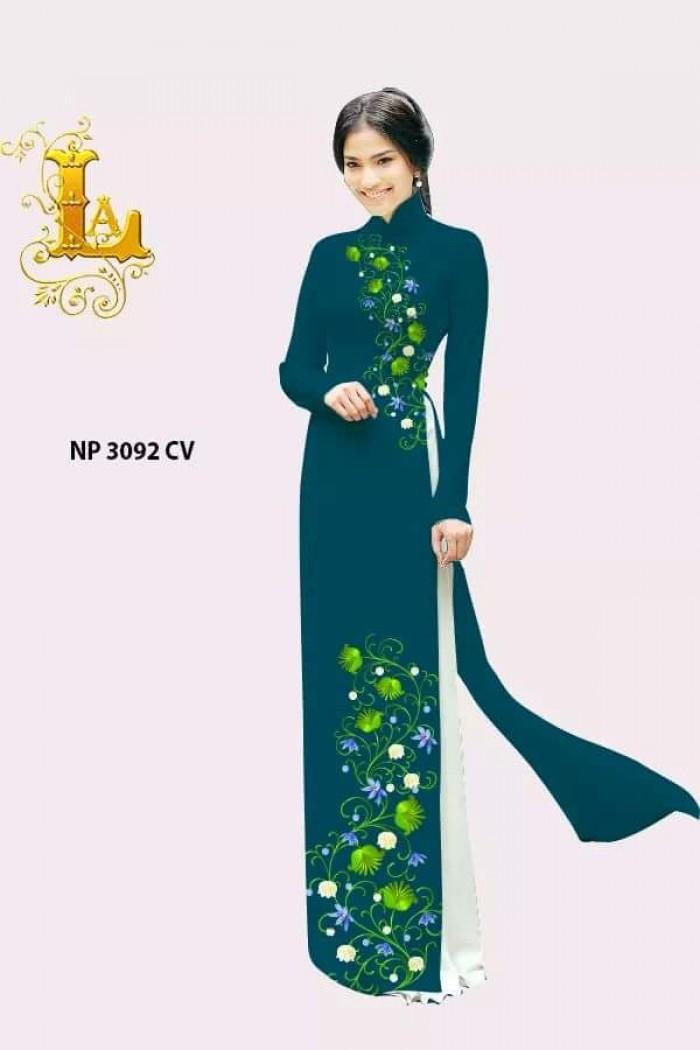 Áo dài 3D đẹp mẫu NP HOT