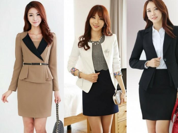 May đồng phục váy nữ, váy vest nữ