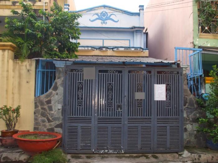 Nhà bán hẻm 6m  Nguyễn Thị Minh Khai, phường 5, quận 3 - 3,7mx15m