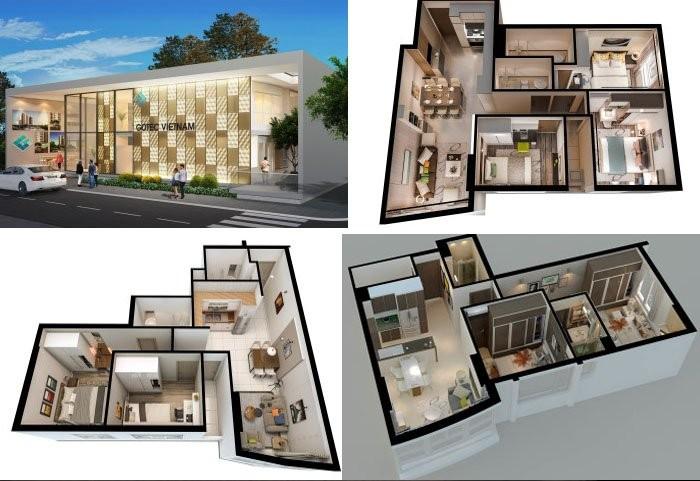 Cần bán căn hộ Summer Square,Quận 6, DT 61m2 (2PN-2WC) giá gốc CĐT