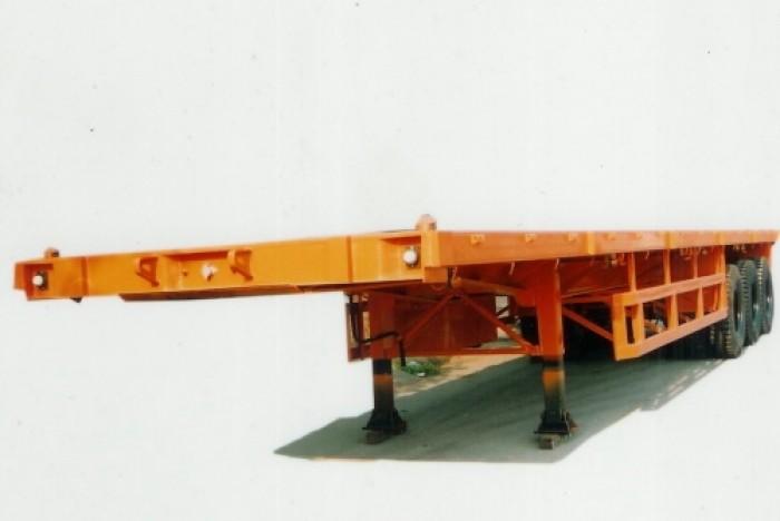 Bán rơ moóc CIMC Thùng bửng 14m Nhập Khẩu Nguyên Chiếc 2016