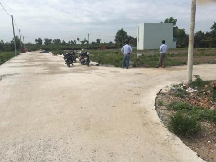 Bán đất sổ đỏ thổ cư gần UBND Phước Tân. diện tích 100m2.
