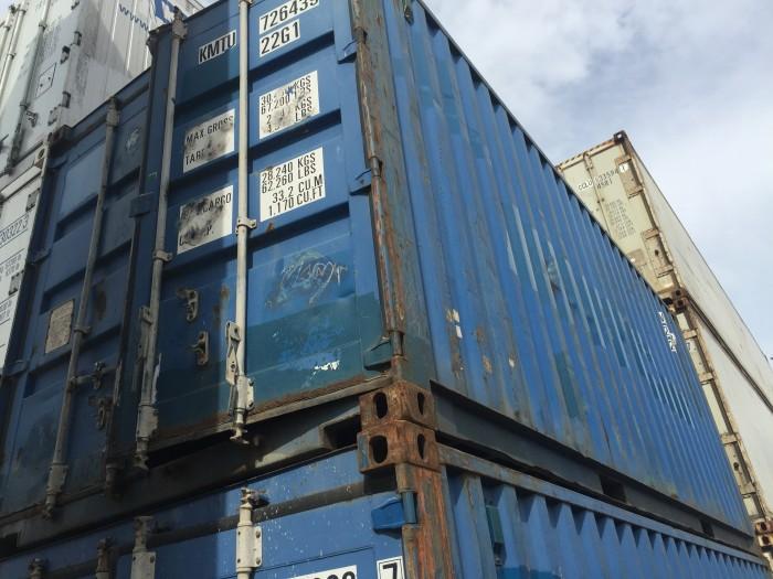 Bán container kho 20 DC, 40 40 HC chất lượng 50% - 60%