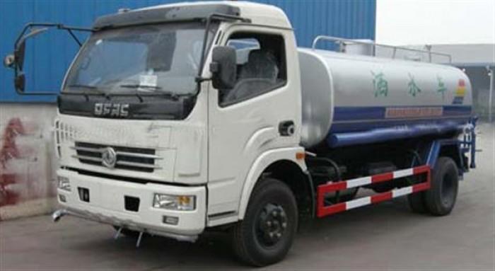 Xe bồn tưới cây rửa đường 5 khối. Đại lý bán xe xitec phun nước rửa đường