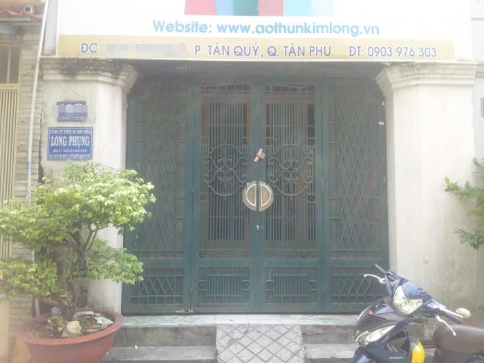 Nhà MT 1 lầu Đỗ Nhuận,Tân Phú DT 4x16m