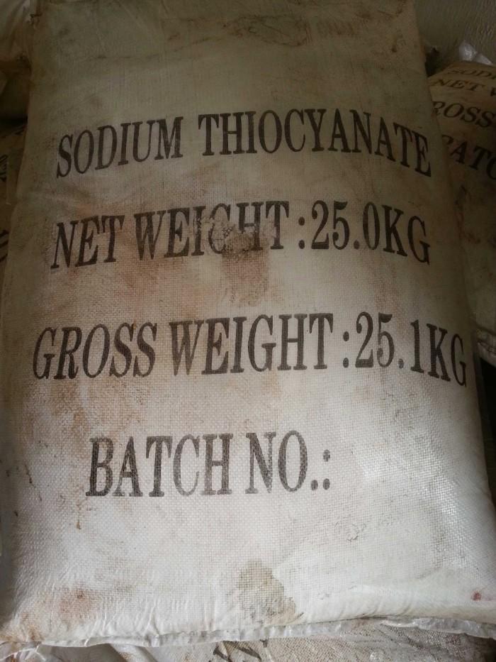 Sodium Thiocyanate, Sodium Thioxynua, sử dụng trong ngành xây dựng, mạ điện mới 100%