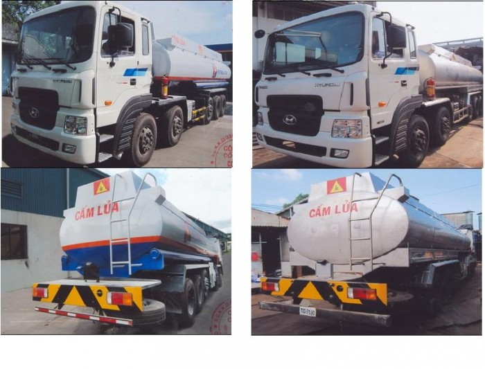 Bán xe chở xăng dầu Hyundai nhập khẩu