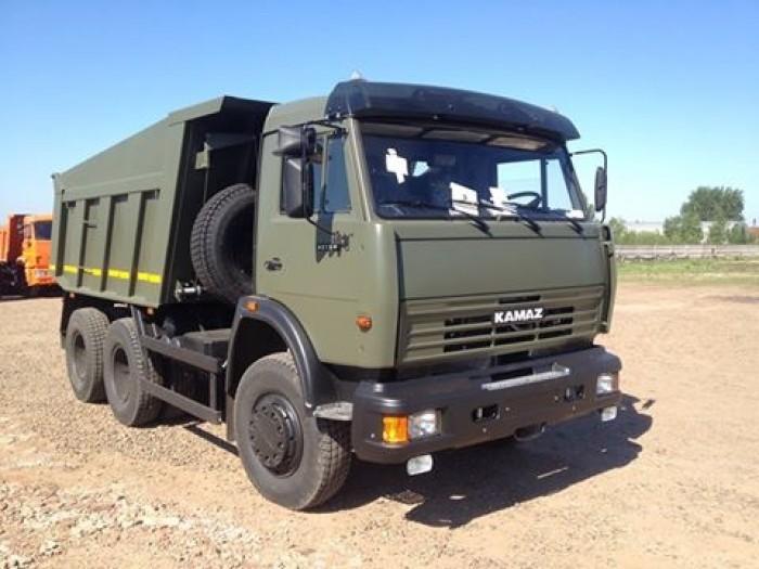 Bán xe tải ben 3 chân Kamaz nhập khẩu tải trọng cao . Giá cả hợp lý
