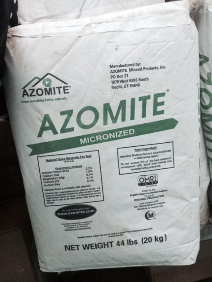 Khoáng nguyên liệu Mỹ Azomite trộn ăn trong thủy sản0