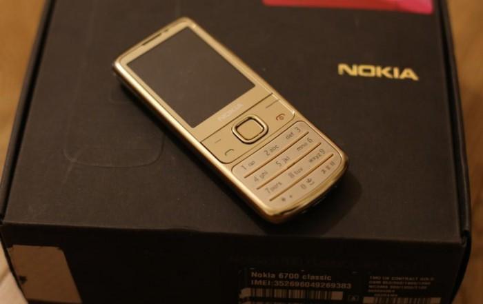Bán Nokia 6700 classic gold fullbox BH 12 tháng tại TP.HCM0
