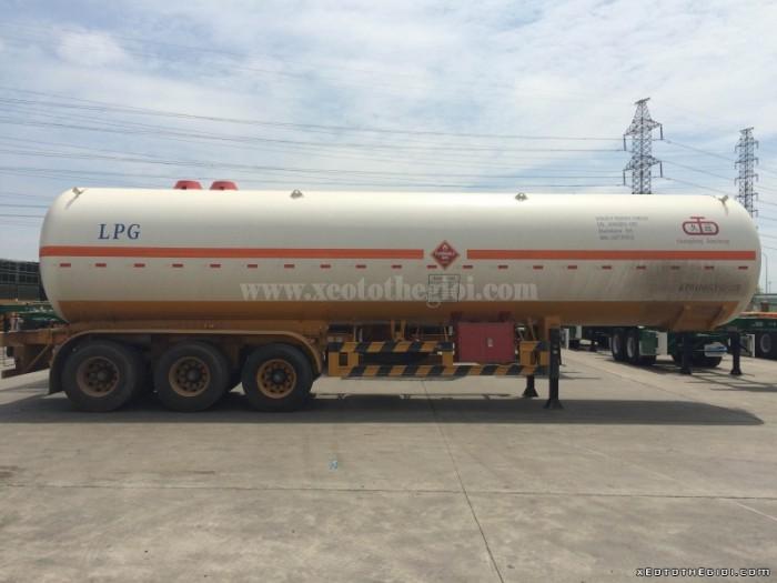 Bồn chở xăng dầu mới, rơ mooc CIMC, 40 m3, hàng nhập khẩu
