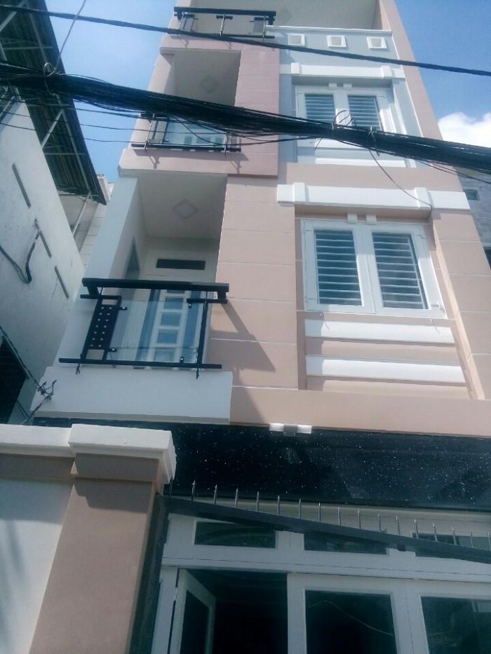 Nhà phố hẻm 163 XVNT, P17, 3,9mx17m.