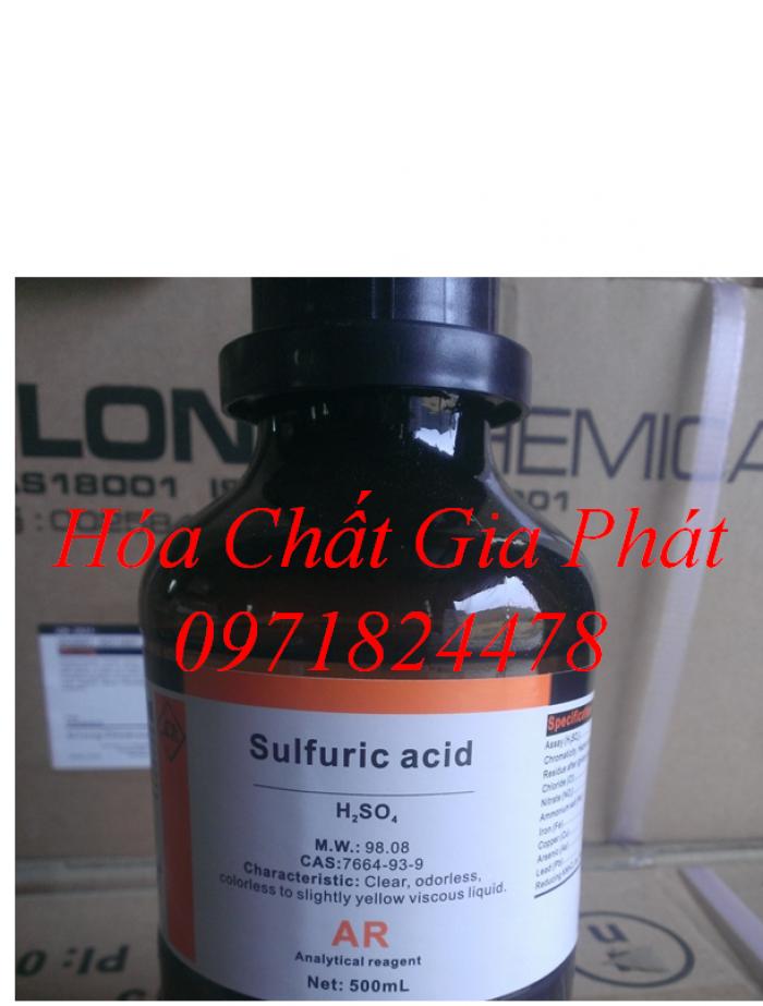 Bán Acid Sulphuric Tinh Khiết, H2SO4 Gía Rẻ
