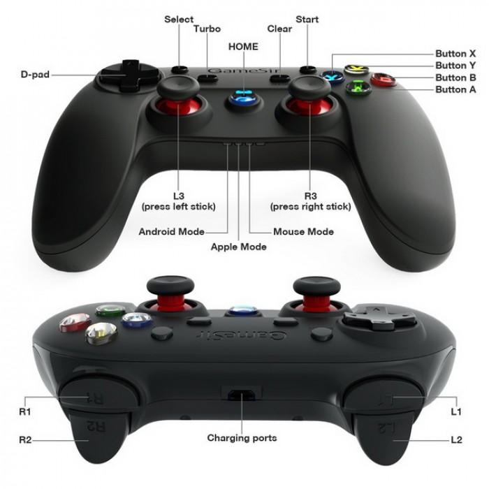 Tay cầm thiết kế thân thiện, các nút mềm, nhạy có độ đàn hồi cao giúp thao tác chơi các game hành động, thể thao trở nên dễ dàng hơn.2