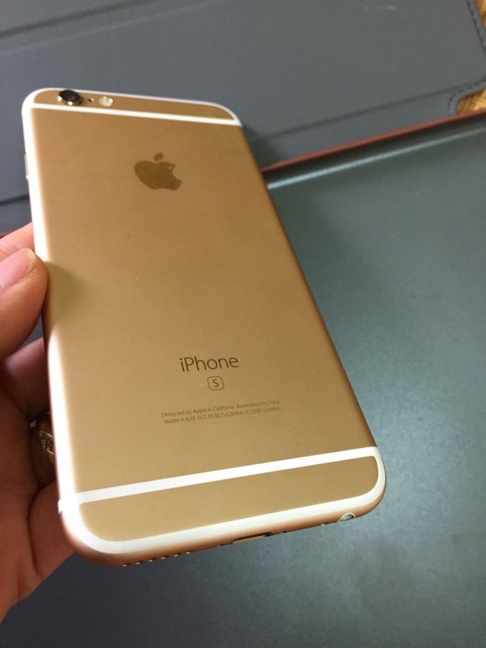 iPhone 6S 64G Gold bản Quốc tế Mỹ đẹp 99% zin đét