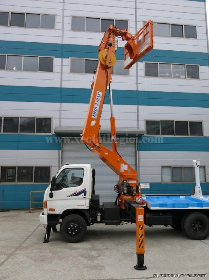 Xe tải Hyundai HD 3.5 tấn HD72 gắn cẩu DHS250, có hỗ trợ vay và trả góp 1