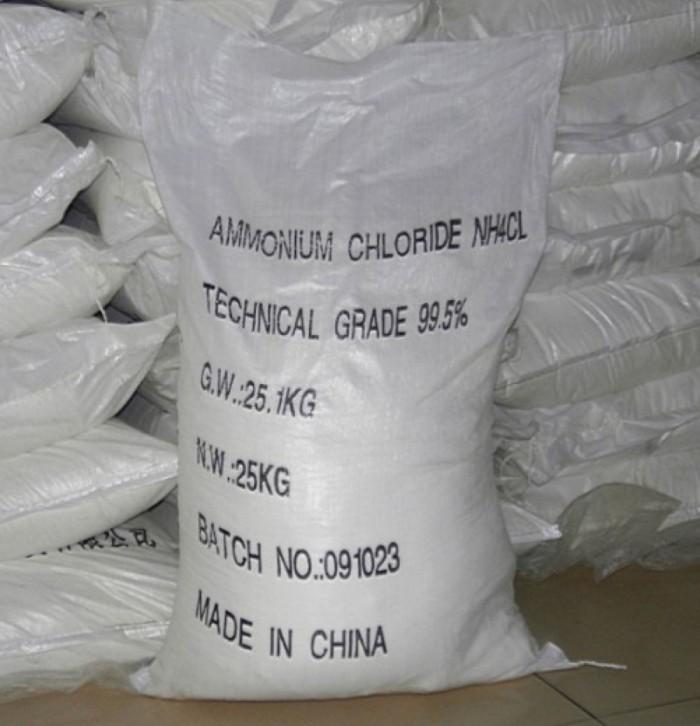 Ammonium Chloride, Amoni clorua, Muối Lạnh, NH4CL