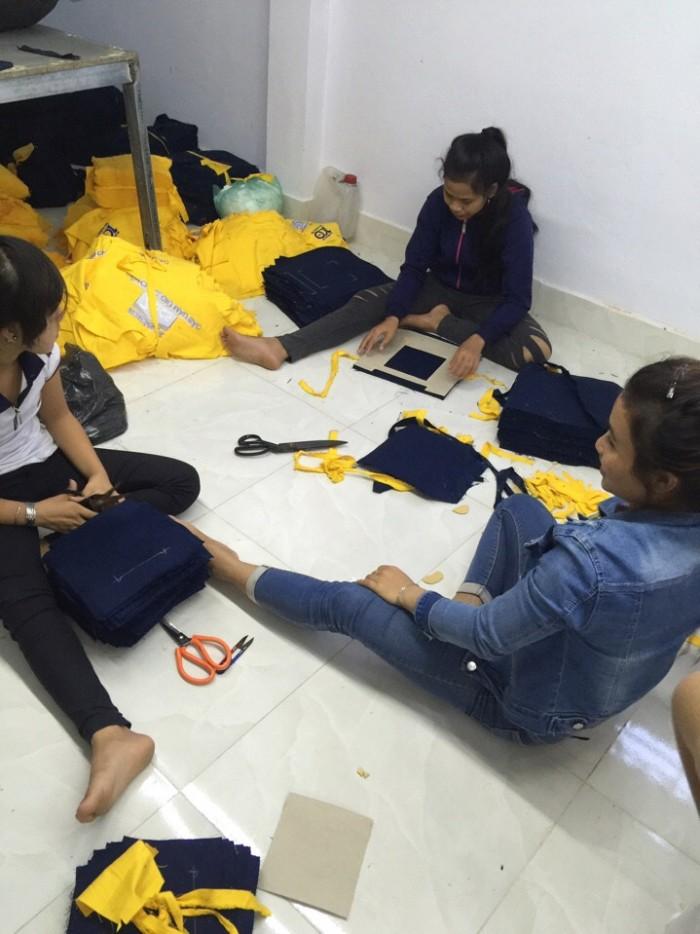 Xưởng may quần áo bảo hộ - May gia công đồng phục bảo hộ lao động - hàng nội địa và xuất khẩu