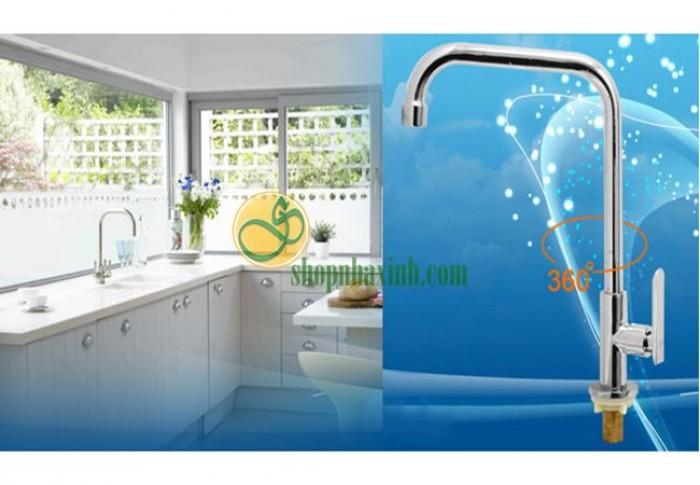 Vòi Rửa Bát Lạnh Cao Cấp Rangos NX502