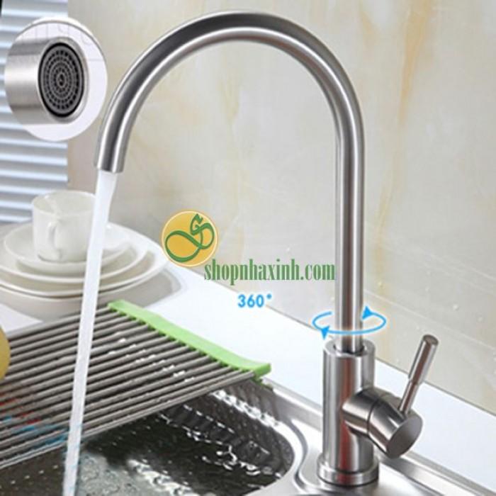Vòi Rửa Bát Nóng Lạnh Inox304 Rangos NX521
