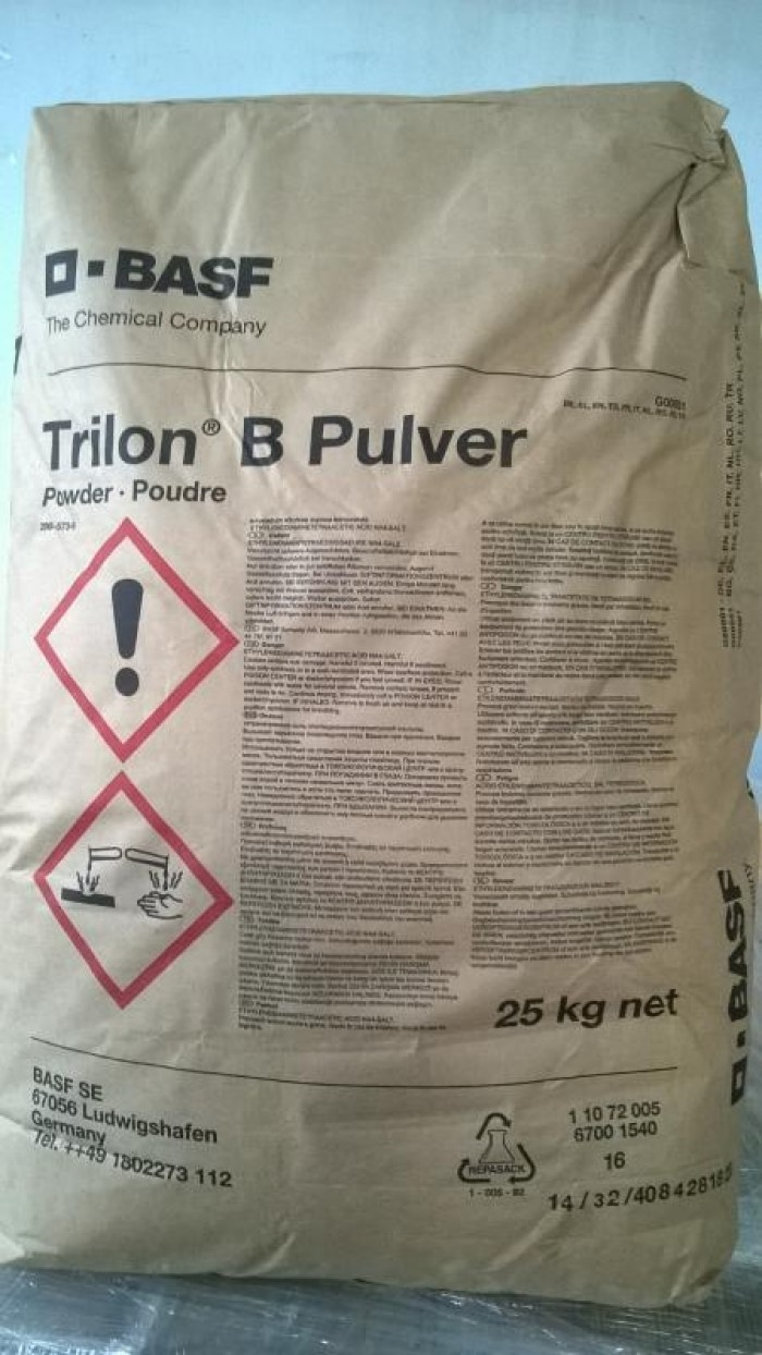 EDTA, Ethylene Diaminetra Acetic Axit, chất Khử các kim loại nặng, ổn định PH ao nuôi, mới 100 %