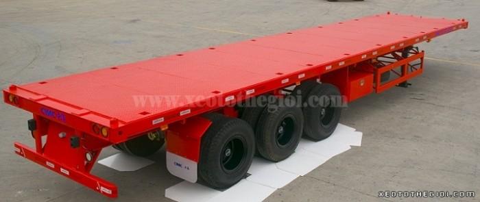 Bán rơ mooc CIMC sàn 3 trục, 31 tấn  2016