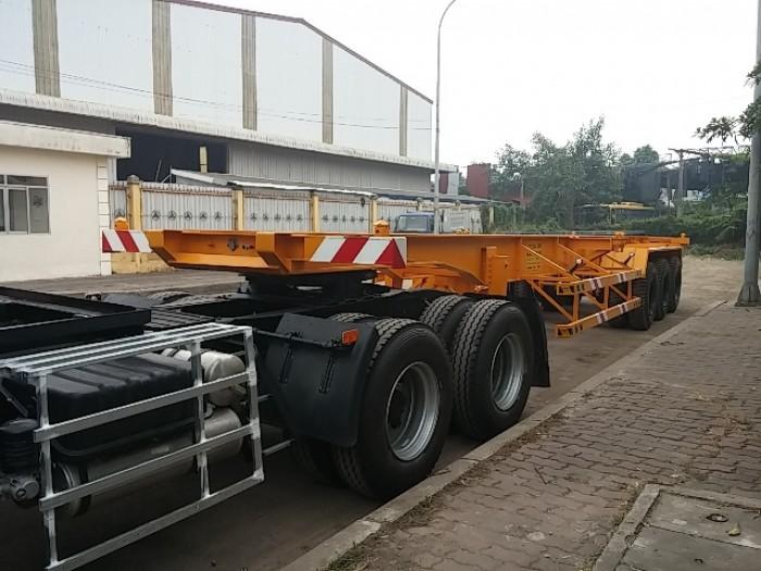 Thông tin Xe Sơ mi Rơ moóc sàn 31 tấn  hàng nhập khẩu, giá cạnh tranh nhất Sài Gòn