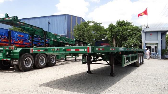 Sơ mi Rơ mooc sàn 31 tấn - Hàng mới về kho SÀi Gòn- Giảm giá