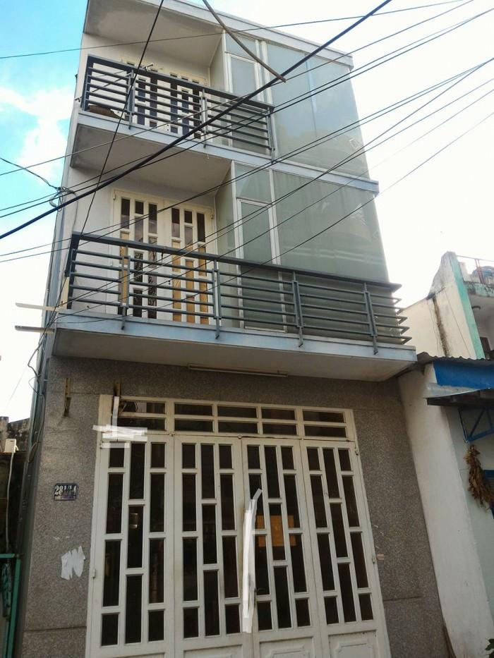 Bán Nhà 76/ Hẻm Nhựa 6M Đường Lê Văn Phan, DT: 4 x 9M, 2 lầu, Giá: 2.4 Tỷ.