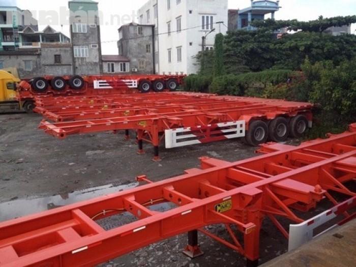 Bán rơ moóc CIMC Sàn 3 trục 31.5 tấn 2016 giá rẻ nhất Miền Nam