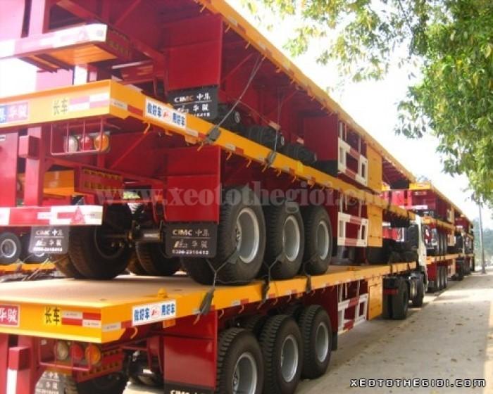 Bán xe Sơ Mi rơ Mooc CIMC xương 31,5 tấn, giao hàng ngay
