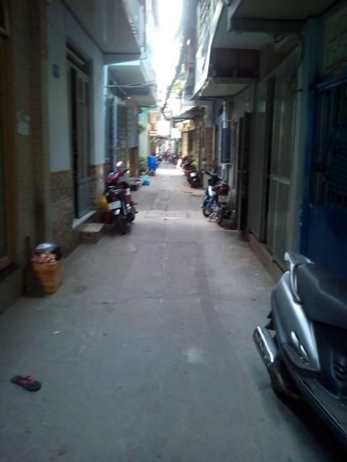 Bán nhà hẻm Lê Văn Sỹ, Phường 12, quận 3.