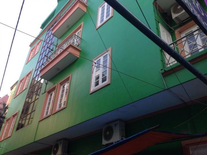 Bán nhà phố Lê Thanh Nghị, Hai Bà Trưng, KD, 60m2, 4 tầng, 18 tỷ