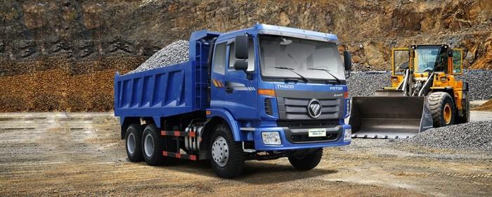 Xe Ben THACO AUMAN D240 3 Chân 13 tấn giá tốt nhất