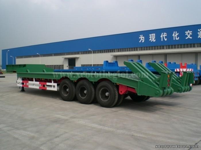 Sơ mi  Rơ Moóc LÙN - Tải trọng 30 tấn. CIMC nhập khẩu nguyên chiếc.