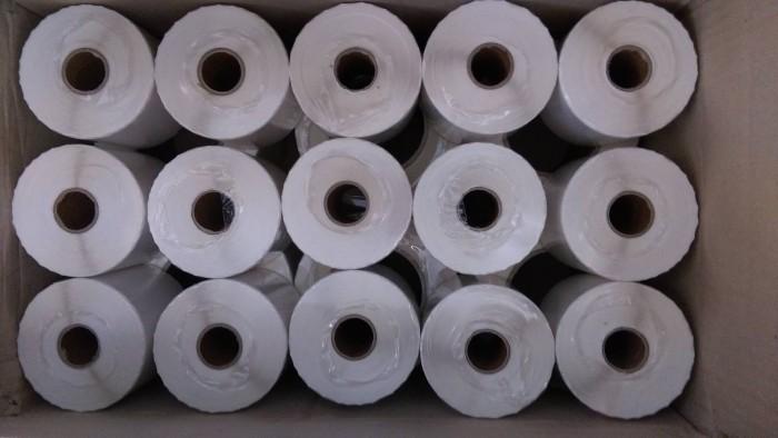 Decal giấy in mã vạch 110mm x 50m