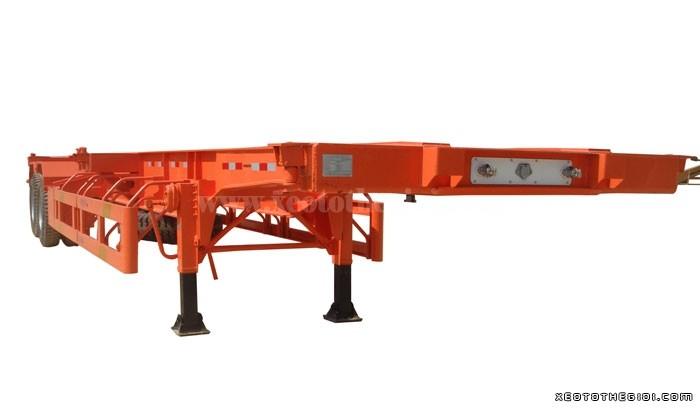 Xe somi rơ mooc CIMC Xương, rơ mooc 2 trục, tải 33,5 tấn -  Mới