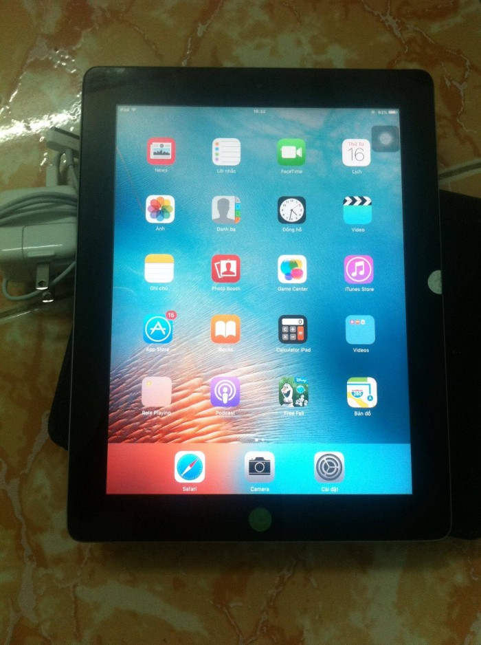 Ipad 2 Only Wifi 16Gh PK Sạc