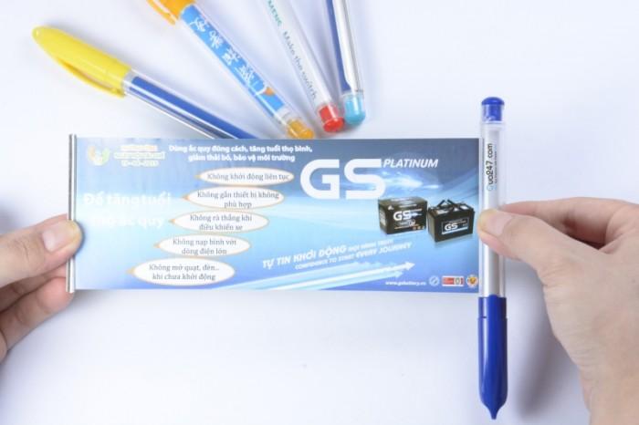 Bút banner in quảng cáo bằng công nghệ in offset full màu sắc cực đẹp giá thấp nhất TP.HCM