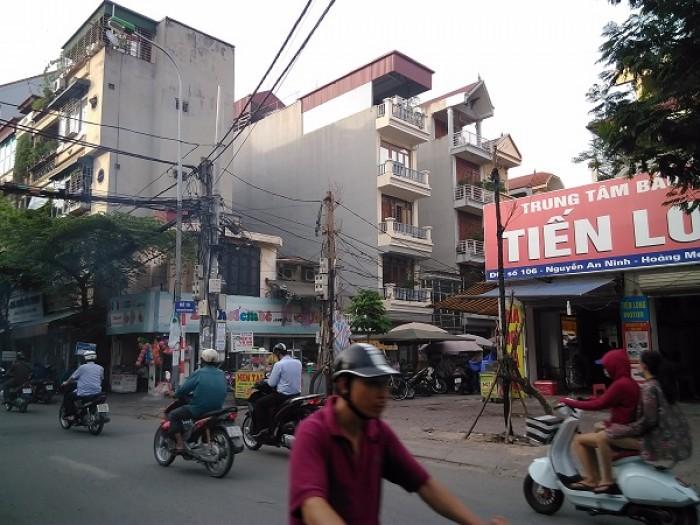 Chính chủ bán đất mặt chợ  Nguyễn An Ninh, Hoàng Mai 56m2, 5,2 tỷ, ô tô đỗ cửa