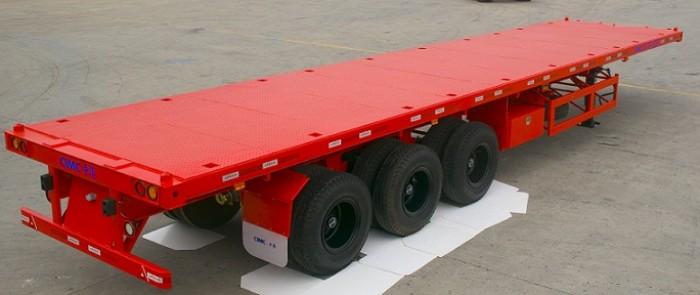 Bán rơ moóc CIMC chở Container 2015 giá 180 triệu
