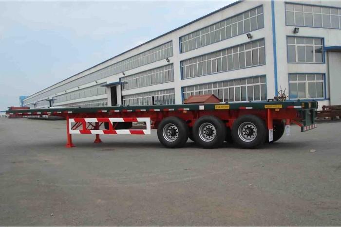 Romooc chở Container dạng khung xương 40 feet 2 trục CIMC