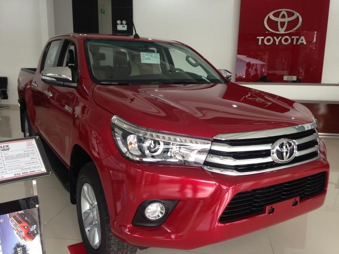 Toyota Hilux sản xuất năm 2017 Số tay (số sàn) Dầu diesel