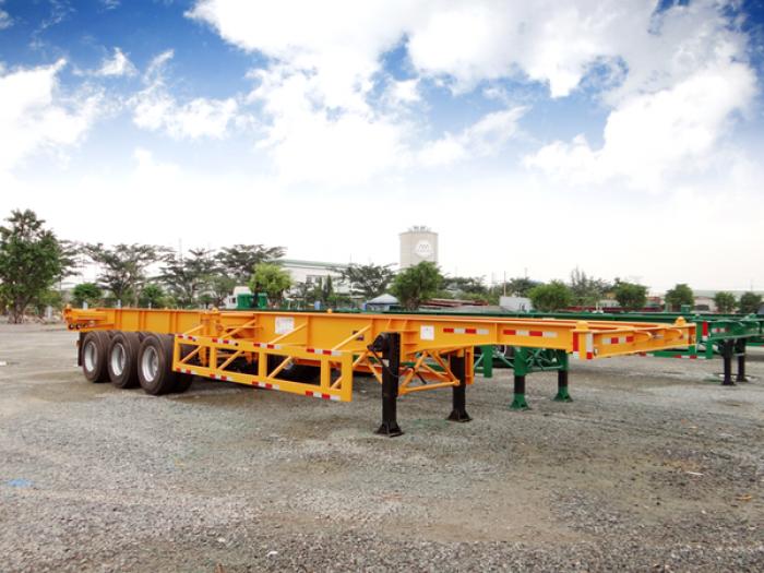 Bán rơ moóc CIMC XƯƠNG 2 trục 30,5 tấn chở container 2016 giá rẻ nhất Miền Nam