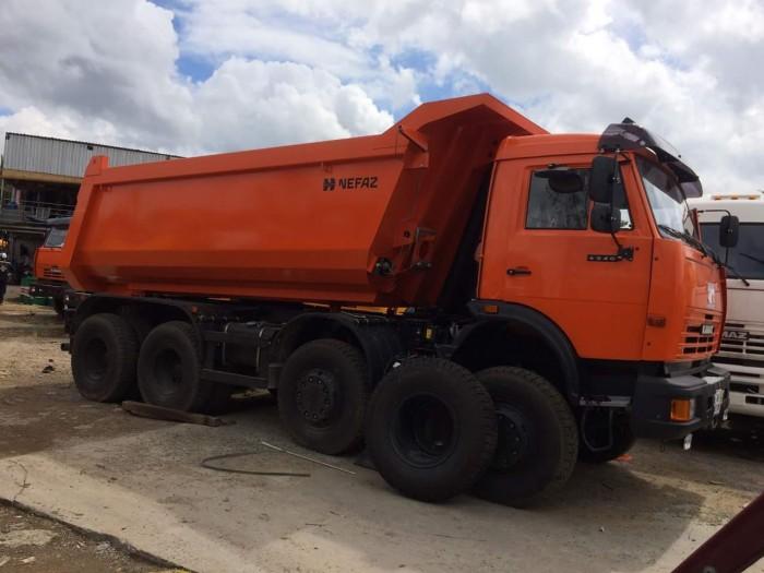 Xe ben 4 giò 30 tấn Kamaz, Kamaz 6540 mới 2016 thùng ben 15m3 tại Kamaz Bình Dương