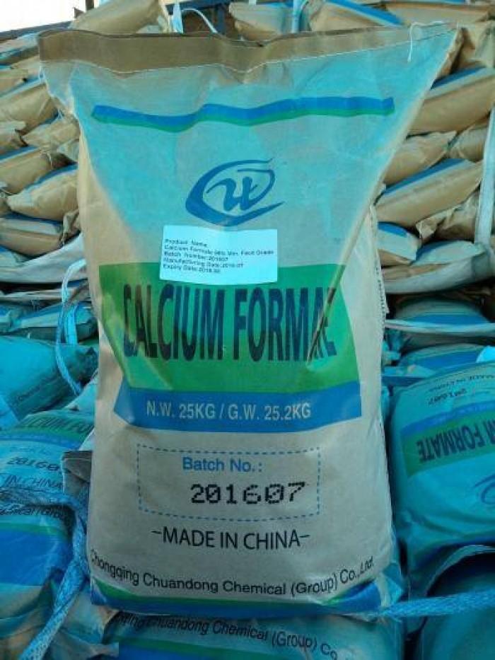 Calcium Formate tăng kiềm, bổ sung canxi trong ao tôm0