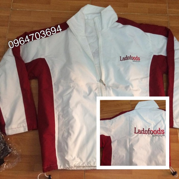 Xưởng chuyên cung cấp áo khoác đồng phục đẹp, đồng phục công ty rượu vang Ladofoods